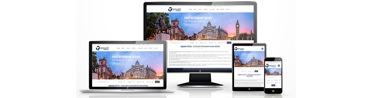 responsive estate agency wen sites